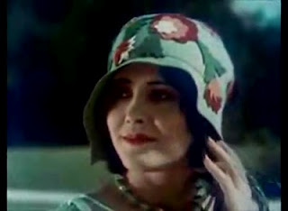 beautiful flappers - color film 1927