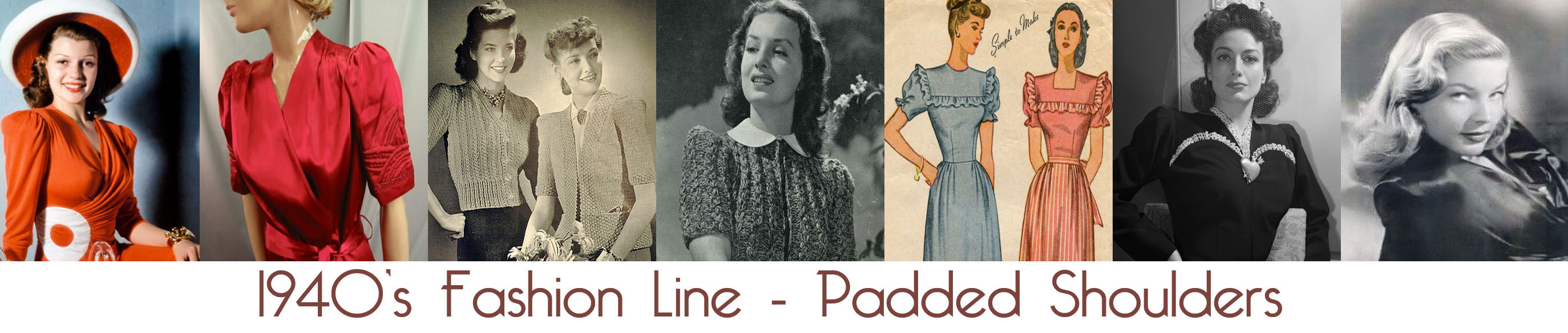 Glamour Daze: 1940's fashion - Womens Dress Code in the War Years