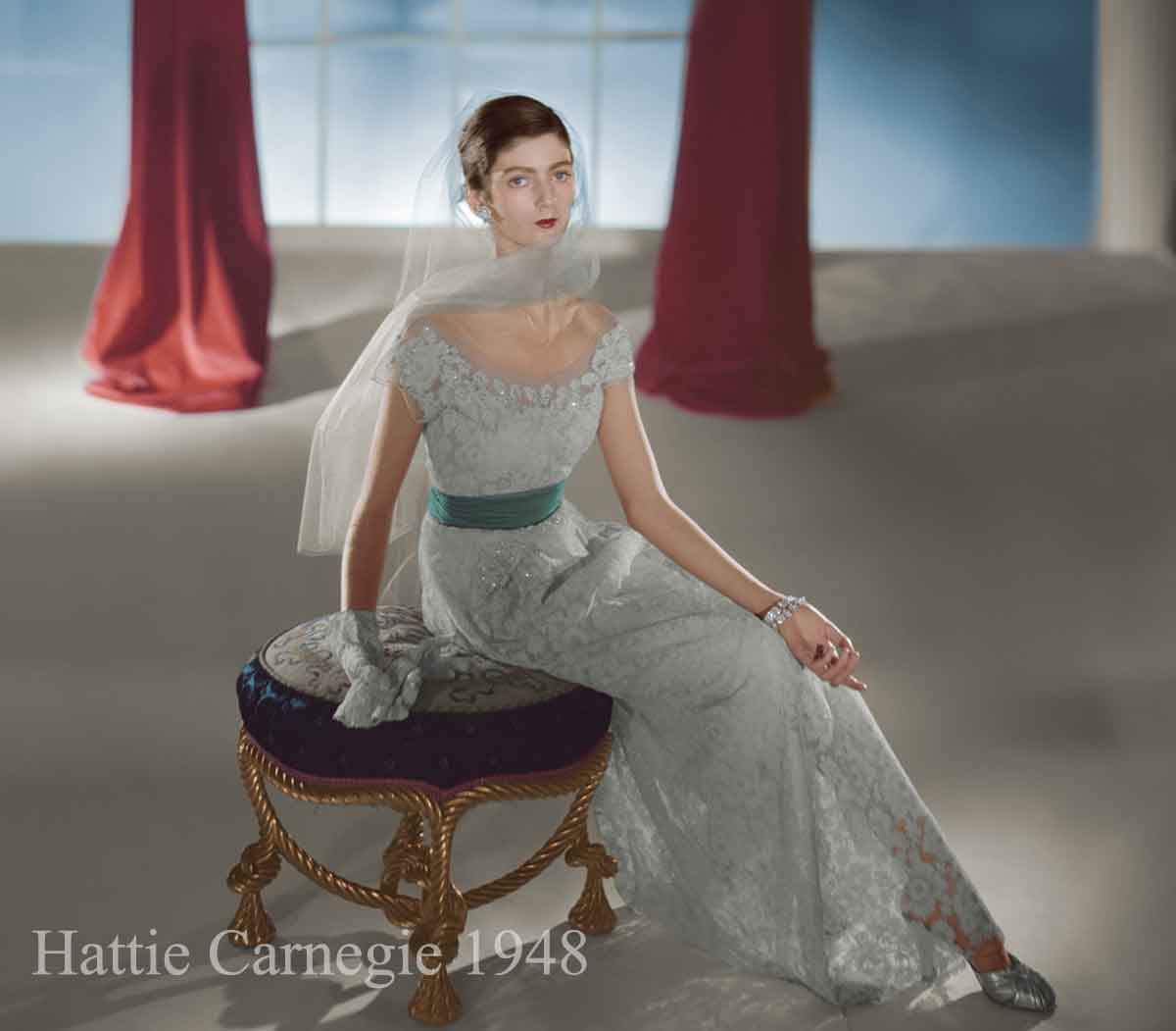 dress-by-hattie-carnegie-modelled-by-carmen-dell-Horst-P-Horst