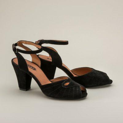 Nita 1940s Ankle Strap Sandals by Royal Vintage