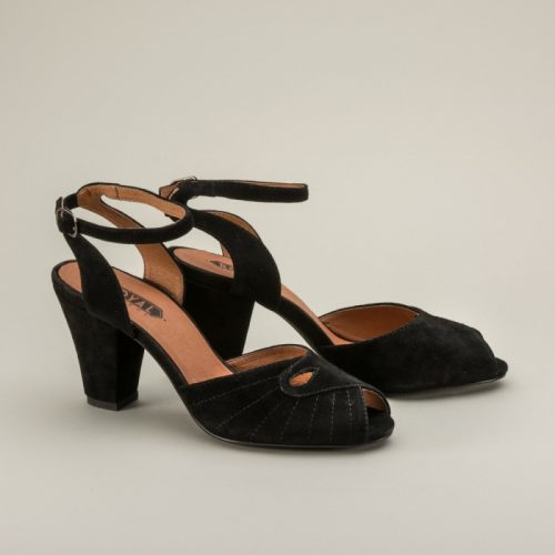 Nita 1940s Ankle Strap Sandals by Royal Vintage