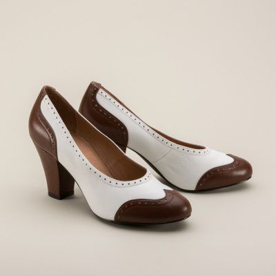 Peggy 1940s Spectator Pumps by Royal Vintage