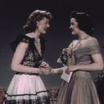 1940's Fashion – Vintage Evening Dress show