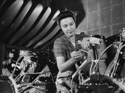 Rosie the Riveter 1940s