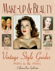 vintage 1940s beauty makeup guides