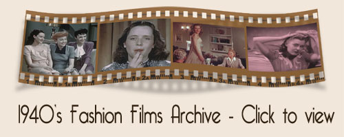 1940s fashion film archive
