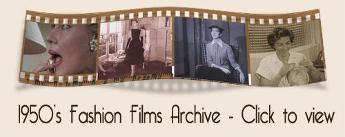 1950s fashion film