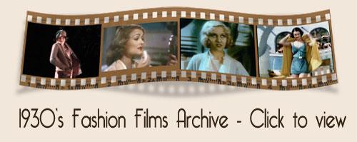 1930s fashion film