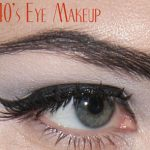 1940's Fashion – The 1940's Eye Make-up look .