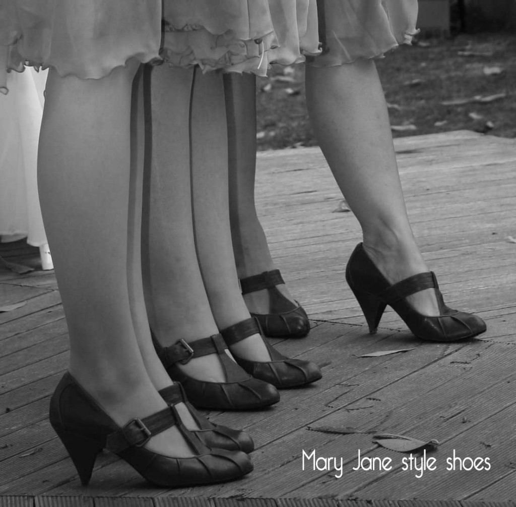 1920's-shoes style