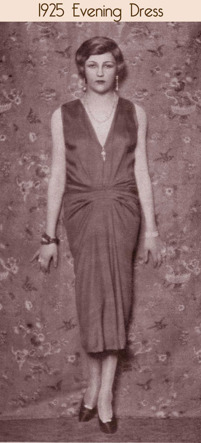 1920 S Dress Fashion Visual Timeline From 1921 To 1929