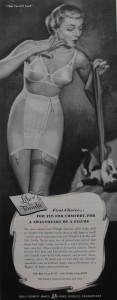 1940s bra and girdle