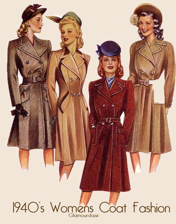 1940s Fashion: Easy Guide To A 1940's Woman's Dress And Style