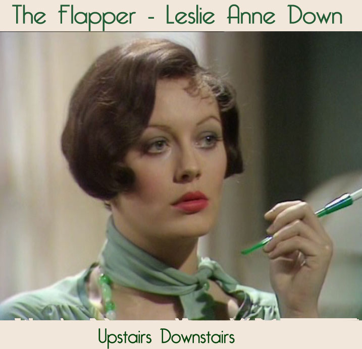 1920's flapper hairstyle -Leslie-Anne-Down
