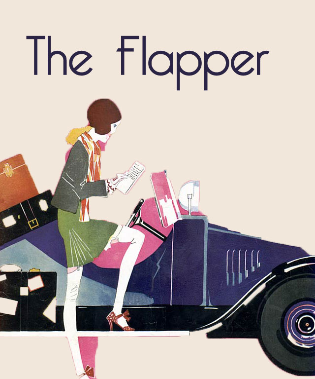 The Flapper - John Held Jr