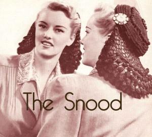 1940s snood