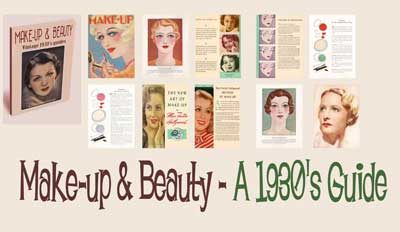 1930s mameup and beauty guides