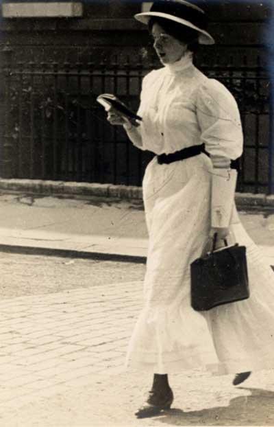 Edwardian 1900s Street Fashion Images - by Edward Linley Sambourne2