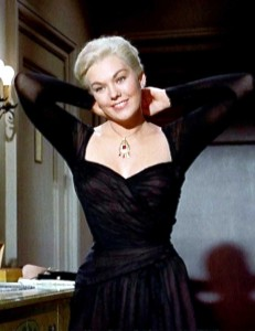 Kim-Novak---Vertigo-black-halter-neck-dress-by-Edith-Head