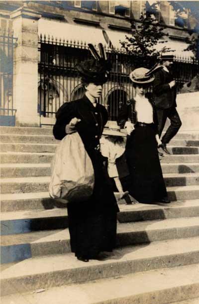 Edwardian 1900s Street Fashion Images - by Edward Linley Sambourne