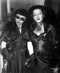 Edith Head and Gloria Swanson-Sunset-blvd