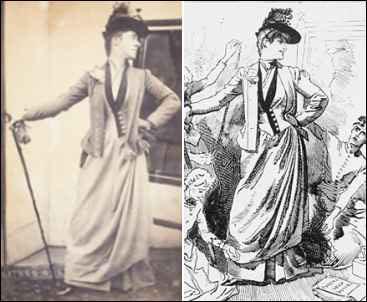 Edwardian 1900s Fashion Images - by Edward Linley Sambourne