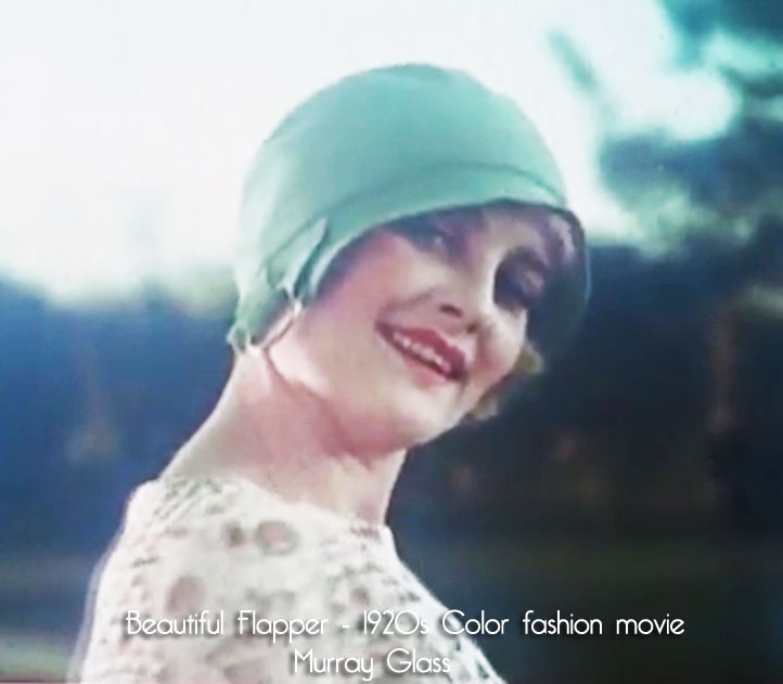 Discovered - Color 1920's Fashion Movie