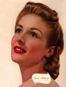 1940s face - makeup secrets