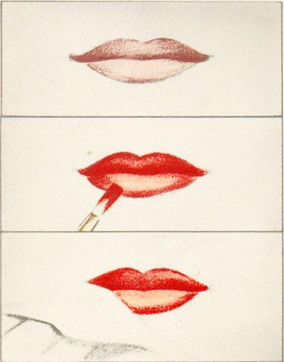 1940s-fashion-makeup--beautiful-lips-secrets
