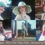 Discovered – Color 1920's Fashion Movie