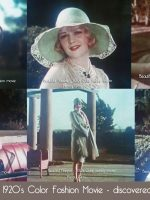 Discovered - 1920s-Color-fashion-movie