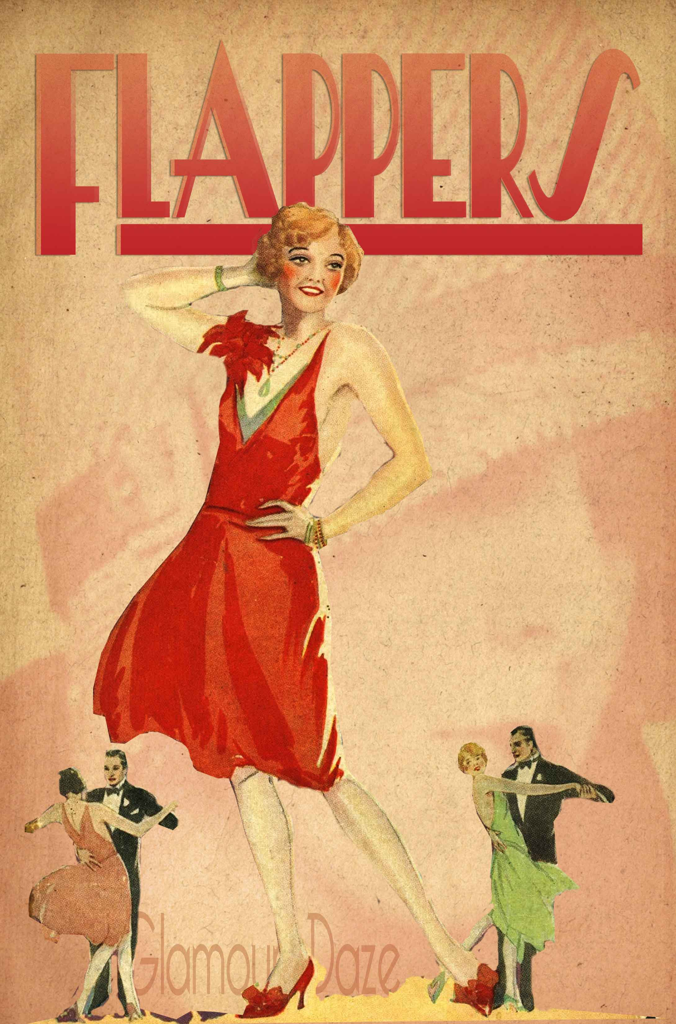 Flappers - Roaring 20's Scrapbook Project