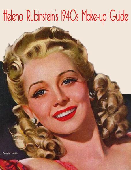Helena Rubinsteinu0026#39;s 1940s Make-up Color Chart | Glamourdaze
