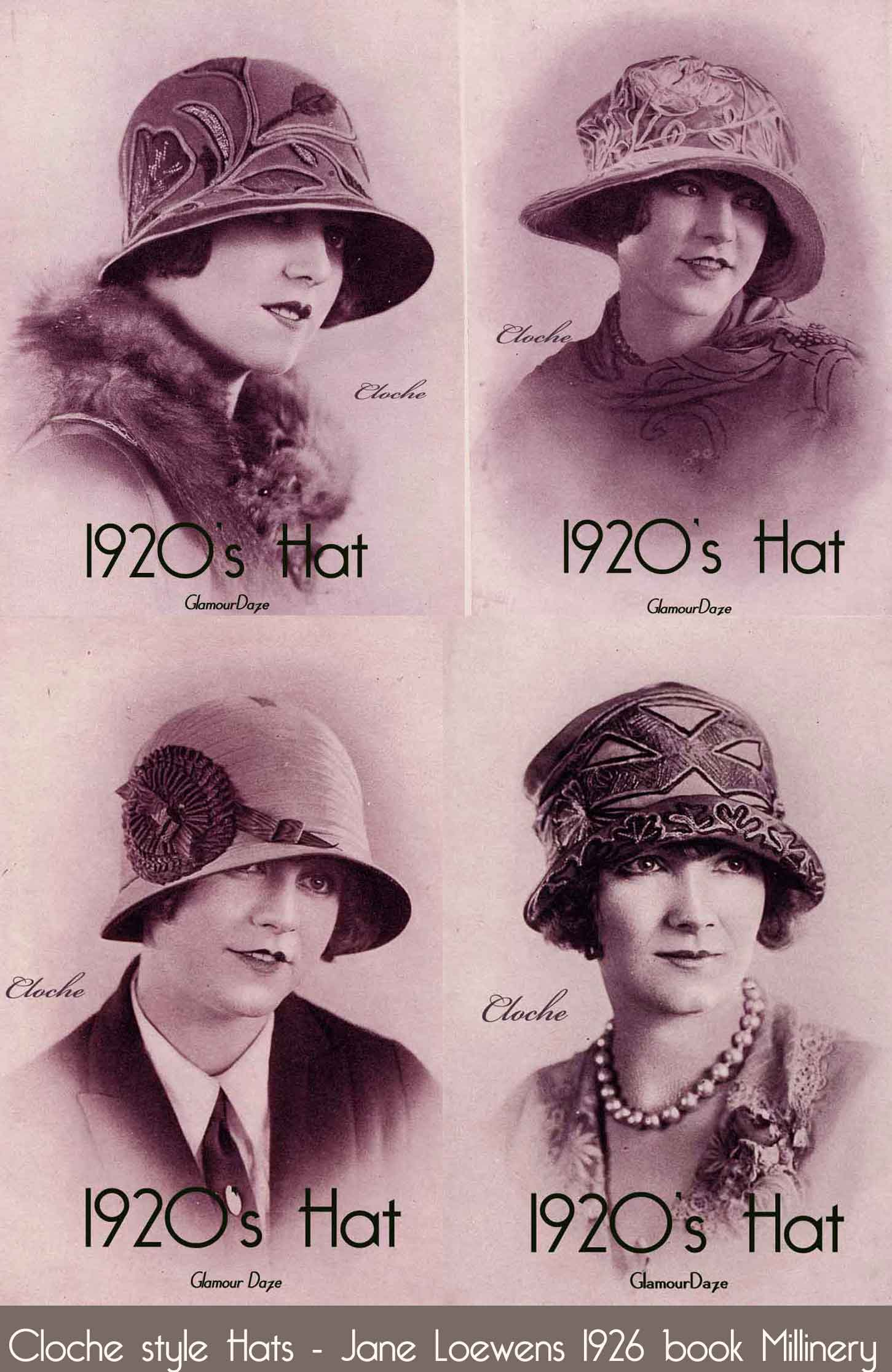 The Cloche Hat – The design, the colors and how to wear ...