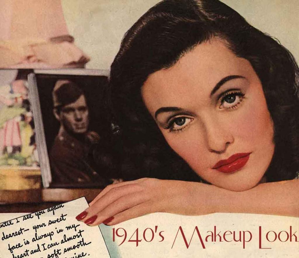The 1940s Face - 7 Make-up Secrets by Gabriela Hernandez ...