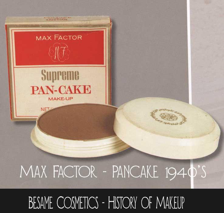Max Factor Pancake Makeup Color Chart Cosmetics And Skin Pan Cake Make ...