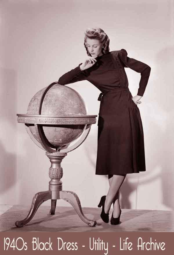 1940s Fashion  Deborah Kerr models the 1942 British - 1920S Black Hairstyles