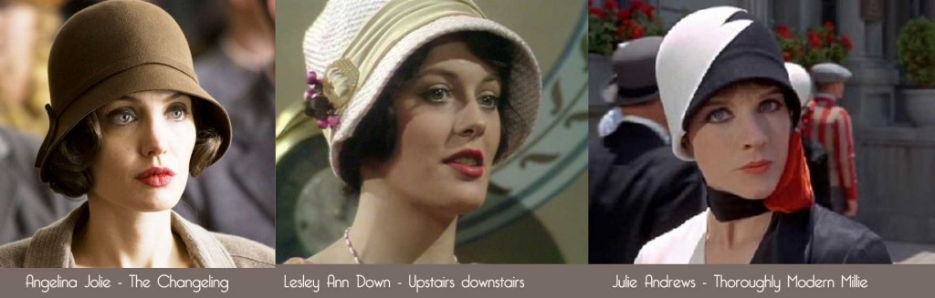 Cloche-Hats in film and TV