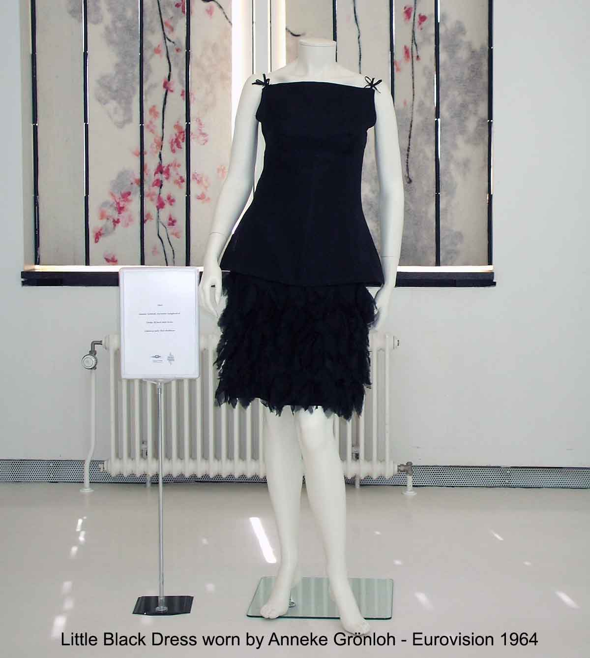Little Black Dress worn by Anneke Grönloh - Eurovision 1964