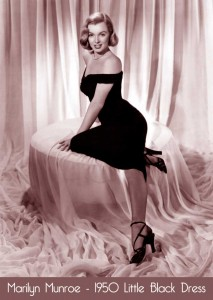 Marilyn-Munroe--1950s-Little-Black-Dress