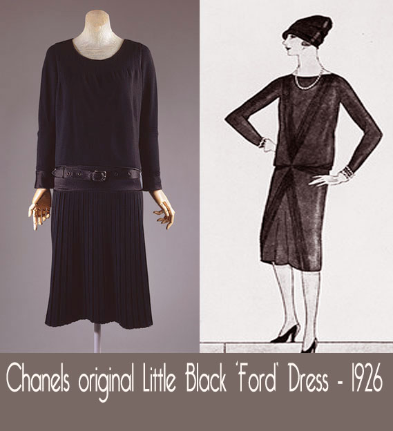 Little Black dress - Chanel 1926