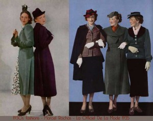 1930s fashion history