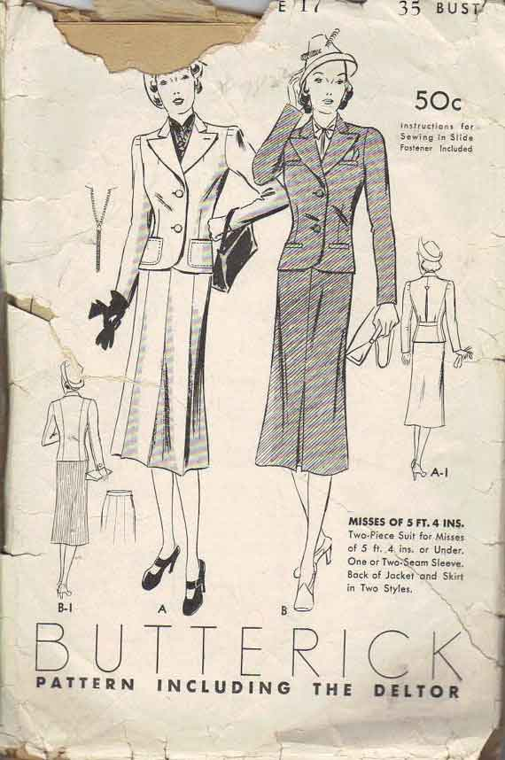 1930s Fashion Recreating A Joan Crawford 1935 Dress Suit Glamourdaze
