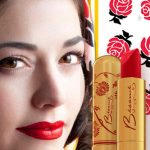 Besame Lipstick and Kenley Collins Scarf Set