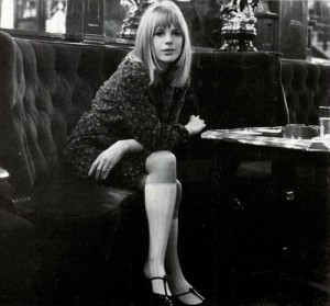 marianne-faithful -1960s fashion icon