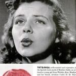 Sealed with a kiss – 1940s Lipstick kisses to servicemen