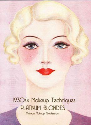 1930 makeup beauty guides