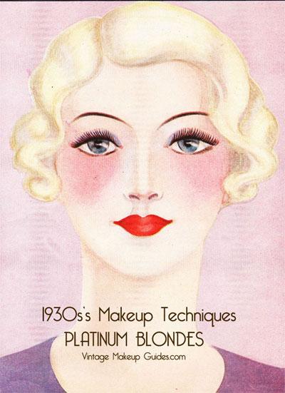 1930s Makeup Techniques The Platinum