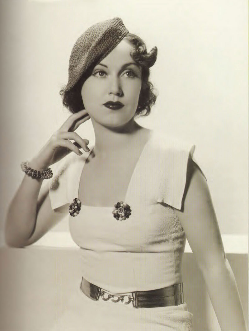 The 1930s – The Golden Age of Glamour for Women's fashion.