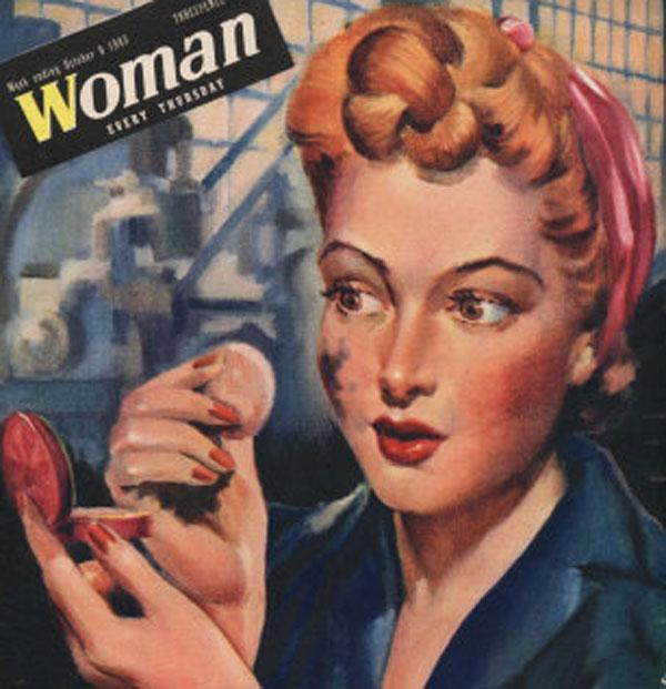 The Four Keys to Beauty for Wartime Women   Glamourdaze